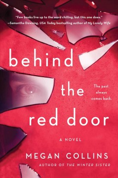 Behind the red door cover image