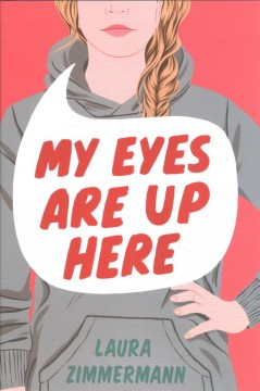My eyes are up here cover image