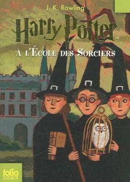 Harry Potter à l'école des sorciers cover image
