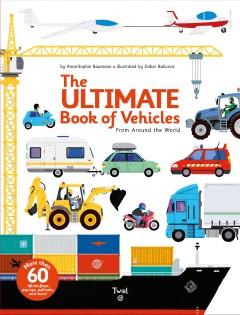 The ultimate book of vehicles from around the world cover image
