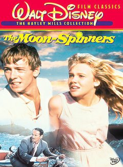 The moon-spinners cover image