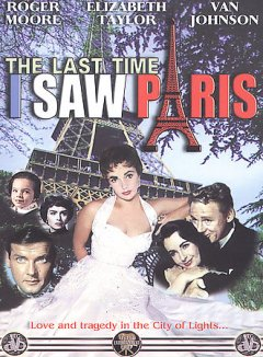 The last time I saw Paris cover image