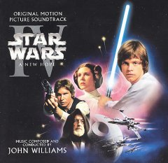 Star wars IV, a new hope the original motion picture soundtrack cover image