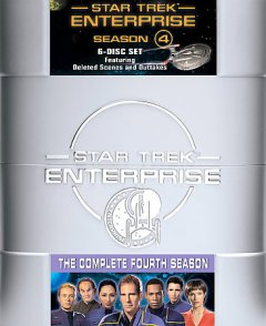 Star Trek Enterprise. Season 4 cover image