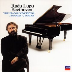 Radu Lupu plays Beethoven cover image