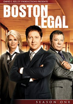 Boston legal. Season 1 cover image