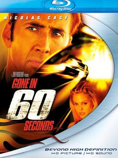 Gone in 60 seconds cover image