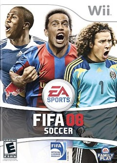 FIFA soccer 08 [Wii] cover image