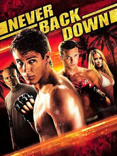 Never back down cover image