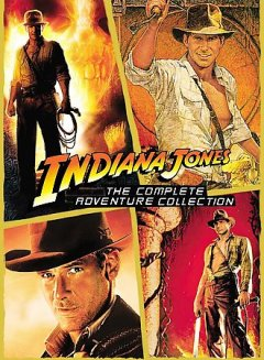 Indiana Jones, the complete adventure collection cover image