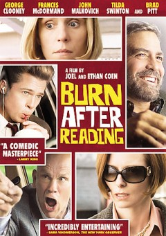 Burn after reading cover image