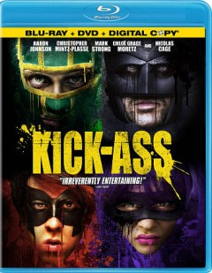 Kick-Ass [Blu-ray + DVD combo] cover image