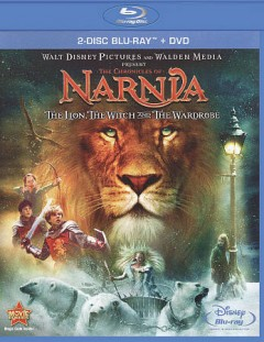 The chronicles of Narnia. The lion, the witch and the wardrobe [Blu-ray + DVD combo] cover image
