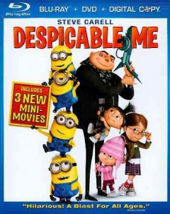 Despicable me [Blu-ray + DVD combo] cover image