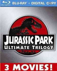 Jurassic Park ultimate trilogy cover image