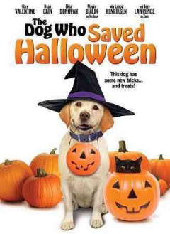 The dog who saved Halloween cover image