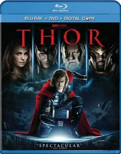Thor [Blu-ray + DVD combo] cover image