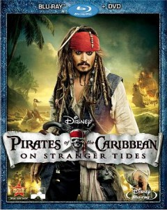 Pirates of the caribbean. On stranger tides [Blu-ray + DVD combo] cover image