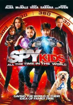 Spy kids. All the time in the world cover image