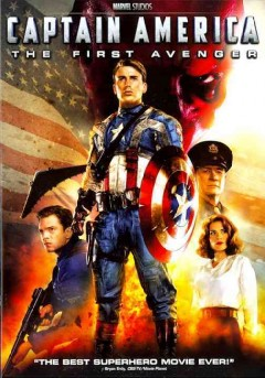 Captain America the first avenger cover image