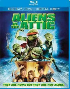 Aliens in the attic [Blu-ray + DVD combo] cover image