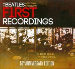 The Beatles with Tony Sheridan first recordings cover image