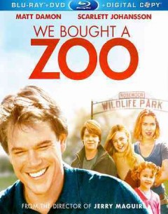 We bought a zoo [Blu-ray + DVD combo] cover image