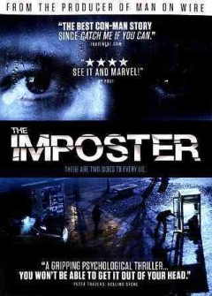 The imposter cover image