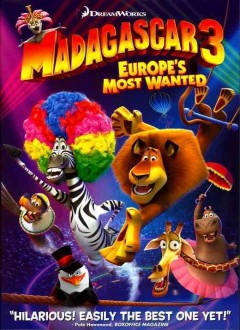 Madagascar 3 Europe's most wanted cover image