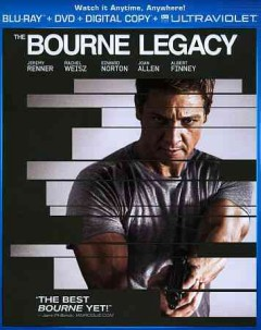 The Bourne legacy [Blu-ray + DVD combo] cover image