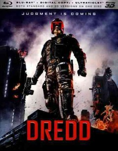 Dredd [3D Blu-ray + Blu-ray combo] cover image