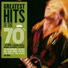 Greatest hits of the 70's cover image