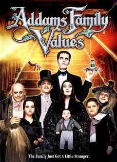 Addams family values cover image