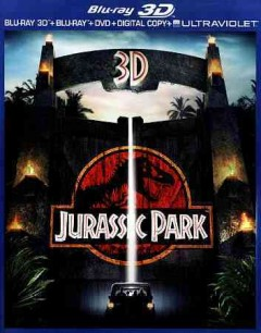 Jurassic Park [3D Blu-ray + Blu-ray + DVD combo] cover image