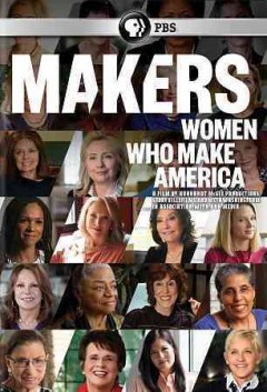 Makers women who make America cover image