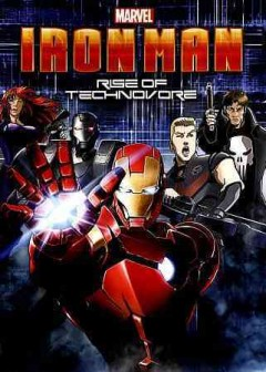 Iron Man Rise of Technovore cover image