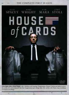 House of cards. Season 1 cover image