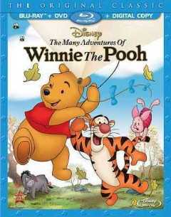 The many adventures of Winnie the Pooh [Blu-ray + DVD combo] cover image