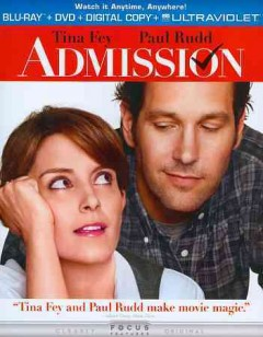 Admission [Blu-ray + DVD combo] cover image