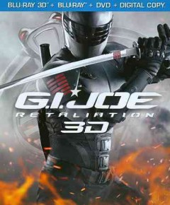 G.I. Joe [3D Blu-ray + Blu-ray + DVD combo] retaliation cover image
