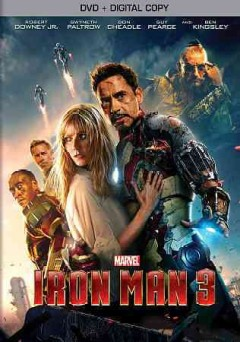 Iron man 3 cover image