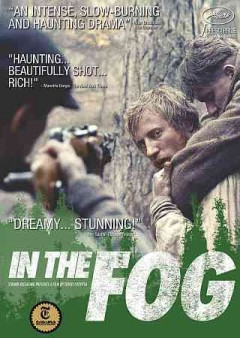 In the fog cover image