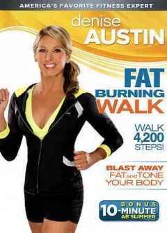 Denise Austin. Fat burning walk cover image