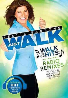 Leslie Sansone. Walk to the hits radio remixes cover image