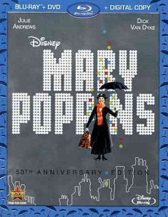 Mary Poppins [Blu-ray + DVD combo] cover image