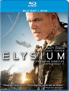 Elysium [Blu-ray + DVD combo] cover image