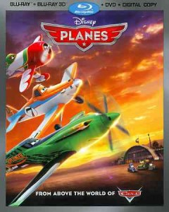 Planes [3D Blu-ray + Blu-ray + DVD combo] cover image