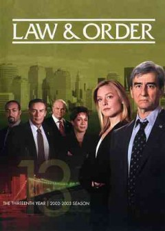 Law & order. Season 13 cover image