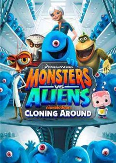 Monsters vs aliens cloning around cover image