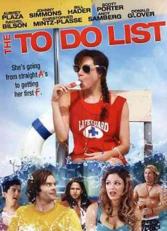 The to do list cover image